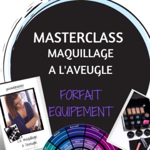 formation maquillage deficients visuels avec materiel disque braille